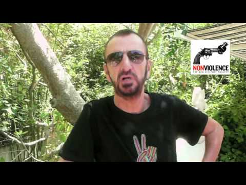 Peace Message from Ringo Starr