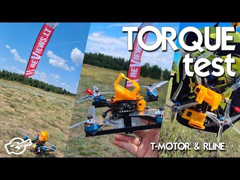 Tattu Rline  1300mAh 120C, torque test with T-MOTOR MCK v3 1910kV - UCv2D074JIyQEXdjK17SmREQ