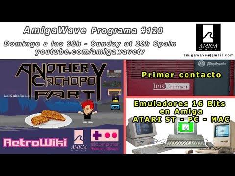Programa #120 - Resumen CachopOS Party III, Emuladores 16 bits en Amiga y primer contacto Crimson.