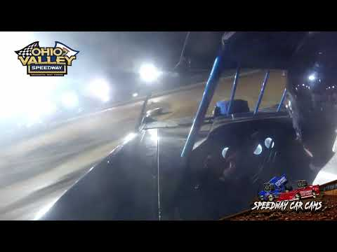 #18 Chris Carpenter - Ohio Valley Speedway 4-23-21 - Super Late Model - In-Car Camera - dirt track racing video image