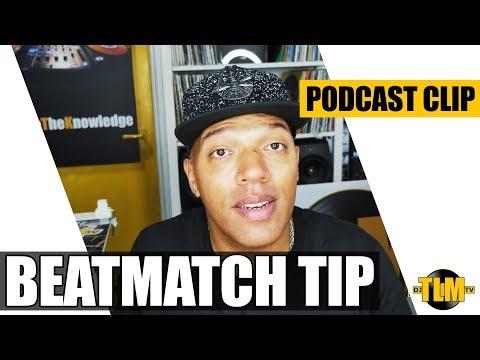 Beat matching tip (cueing)