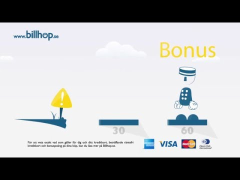 Billhop - Betala räkningar & fakturor med ditt kreditkort!
