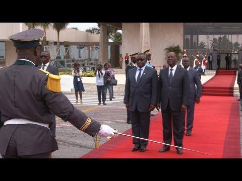 Visite d'amitié et de travail de Julius Maada Bio, Président de la Sierra Leone