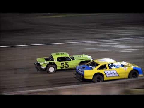 RIVERSIDE INT SPEEDWAY HOBBY STOCK 11 11-17 - dirt track racing video image