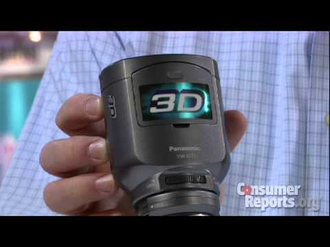 Panasonic 3D camcorder from CES 2011 | Consumer Reports - UCOClvgLYa7g75eIaTdwj_vg