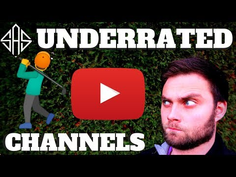 THE MOST UNDERRATED SMALL YOUTUBE GOLF CHANNELS!?