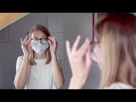 Mundschutz und Brille – so funktioniert es besser …
