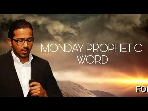 GOD IS WITH YOU, Monday Prophetic Word 27 May 2019 with Ev. Gabriel Fernandes