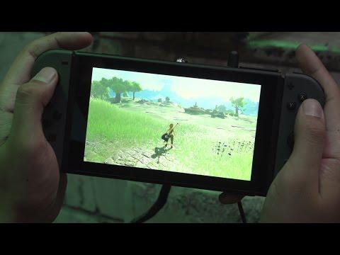 10 Minutes of The Legend Zelda: Breath of the Wild in Handheld Mode