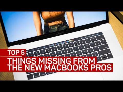 Top 5 things Apple's new MacBook Pros are missing - UCOmcA3f_RrH6b9NmcNa4tdg