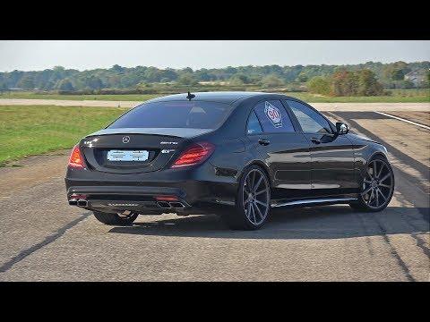 612HP Mercedes-Benz S63 AMG 4Matic+ Accelerations + LOUD Revs!