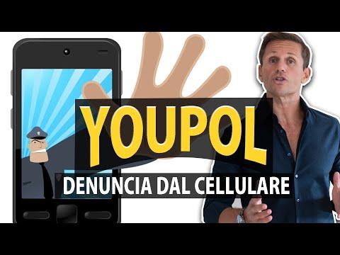 YOUPOL: Come fare una DENUNCIA DAL CELLULARE | avv. Angelo Greco