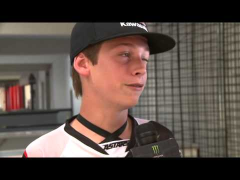 Monster Energy Cup 2012 - Press Day with Adam Cianciarulo