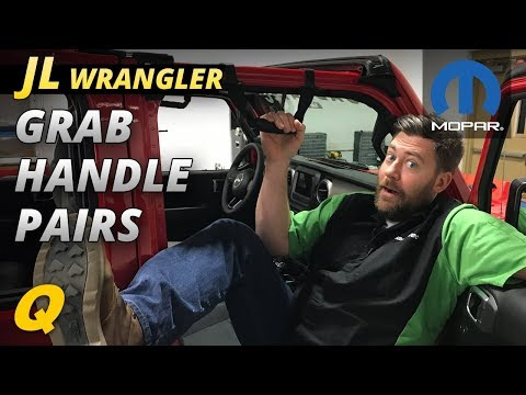 Mopar Grab Handles for 2018 Jeep Wrangler JL