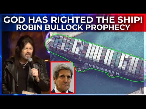 FlashPoint: God Has Righted the Ship!  John Kerry & Ship Prophecy - Robin Bullock