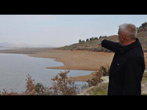 Tahtaköprü Barajı'nda doluluk oranı yüzde 5'e düştü