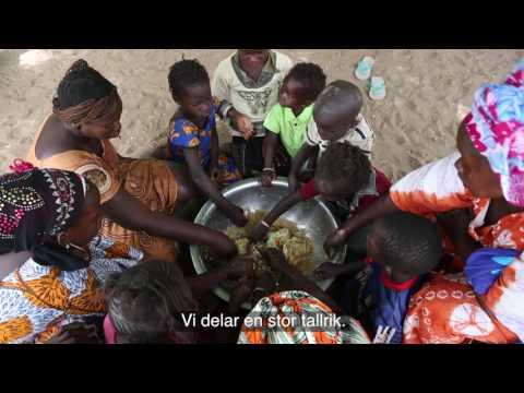 Nodumbe, fadderbarn i Senegal - Plan International