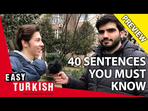 40 sentences you MUST know in Turkish (Trailer) | Super Easy Turkish 4 photo