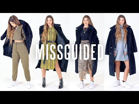 missguided.co.uk & Missguided Discount Code video: One Coat, Four Ways with Gini Misselbrook | Missguided