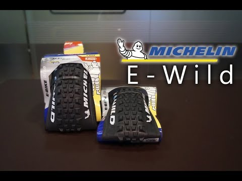 Neumáticos exclusivos para e-bikes Michelin E-WILD