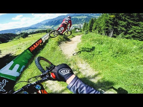 GoPro: A Wild Ride Down Schladming with Fairclough & Bryceland