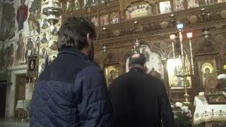 Parintele Gheorghe Coltea la Biserica Serban-Voda din Bucuresti - 29.10.2017