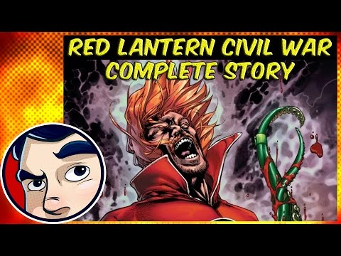 "Red Lanterns Civil War Part 1 ""Atrocities"" - Complete Story 