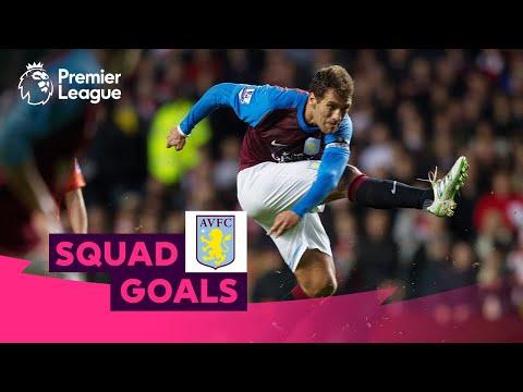 Awesome Aston Villa Goals | Petrov, Benteke, Delph | Squad Goals