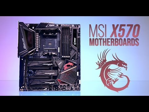 MSI X570 Motherboards: Godlike, ACE, and Gaming Pro Carbon - UCJ1rSlahM7TYWGxEscL0g7Q