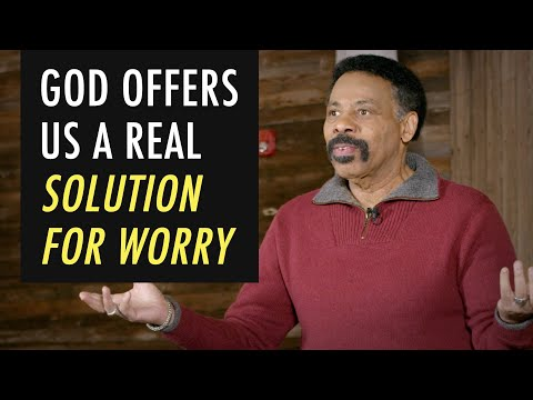 God Offers A Real Solution to Worry