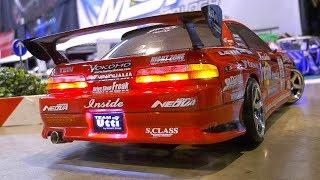 COOL RC SCALE MODEL DRIFT CAR ACTION!! REMOTE CONTROL DRIFT CAR, RC DRIFT FUN
