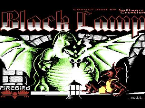 Commodore 64: Black Lamp game ending by Firebird Software