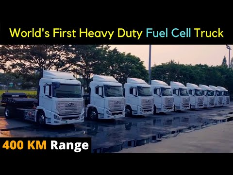World's First Heavy Duty Fuel Cell Electric Truck - XCIENT