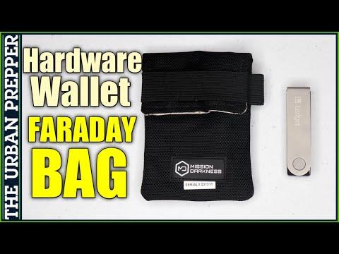 Hardware Wallet Faraday Bag   EMP Protection