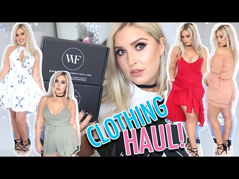 Clothing Haul & Try On! ? Summer Dresses & Playsuits, Chokers & More!