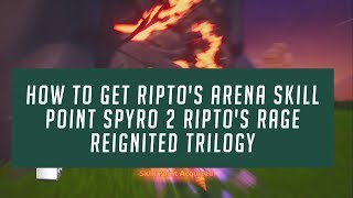 How To Get Molten Crater Supercharge The Wall Skill Point Spyro 3 Reignited Trilogy