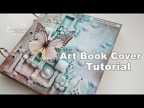 Mystery Goodies sent by a Subscriber Mixed Media Art Tutorial #4 ♡ Maremi's Small Art ♡