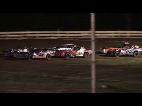 Hummingbird Speedway (7-3-21): Sunny 106.5 FM Pure Stock Feature - dirt track racing video image