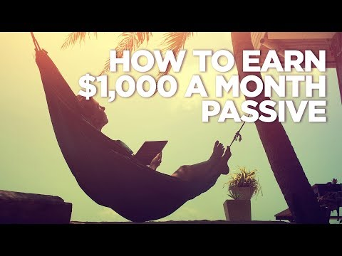 Earn $1,000 a Month Passive Income investing in Real Estate photo