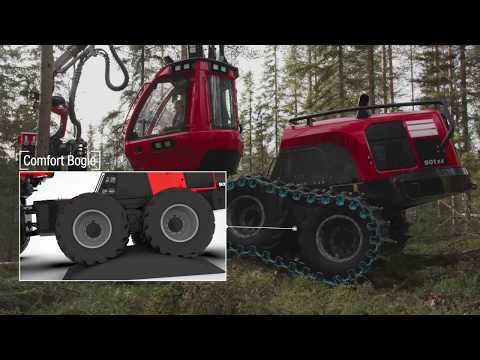 Komatsu Forest - Maneuvrability and stability