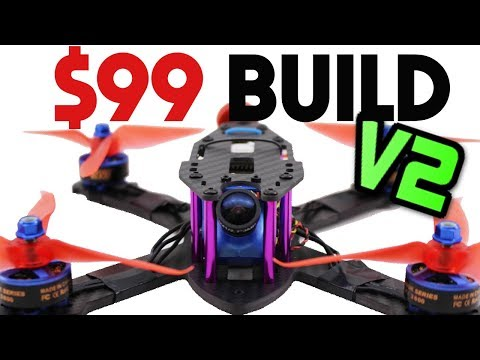 Build a PRO FPV Racing Drone for ONLY $99 Full guide - 2018 UAVFUTURES $99 Build - UC3ioIOr3tH6Yz8qzr418R-g