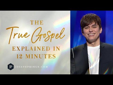 The True Gospel Explained In 12 Minutes  Joseph Prince