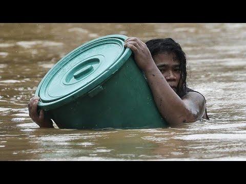 NO COMMENT | Con el agua al cuello en Manila, tras el paso del tifón Vamco