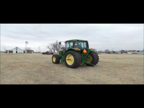 2008 John Deere 7130 MFWD tractor for sale | no-reserve Internet auction February 22, 2017