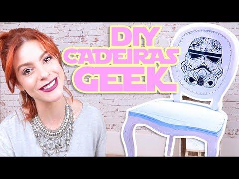 DIY MakeOver Cadeiras Geeks – #MontandoMeuApê06 Star Wars & Game of Thrones
