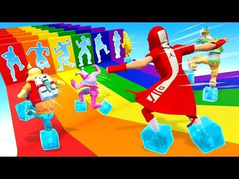 I Made the ULTIMATE Rainbow Slide Deathrun... - UCNAz5Ut1Swwg6h6ysBtWFog