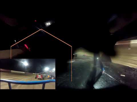 In Car Cam of Brian Bielong  at Highland Speedway 7-17-21 (A-mod) - dirt track racing video image