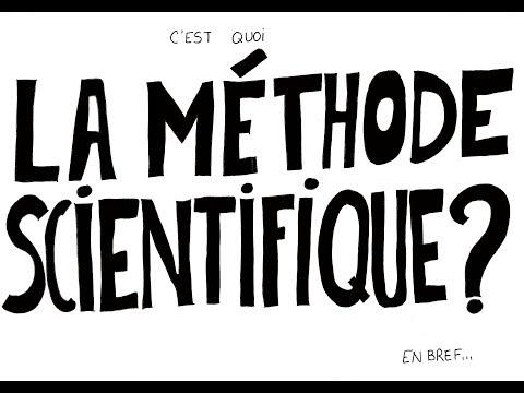 C'est quoi la méthode scientifique ?