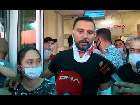 Manisa'nın Saruhanlı ilçesinde kaza geçiren Alişan ve ailesi hastane önünde yaşadıklarını anlattı
