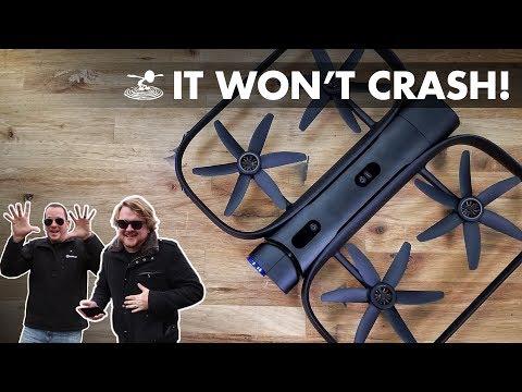 CAN WE CRASH IT? - Skydio R1 Maiden flight! - UC9zTuyWffK9ckEz1216noAw